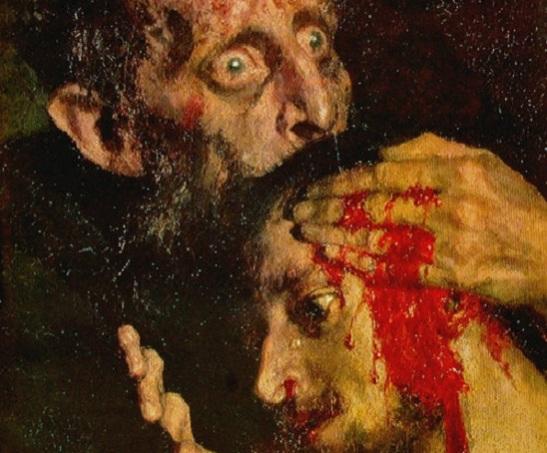 Ivan, o Terrível, e seu Filho; por Ilya Repin
